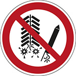 P040 - Do not set off fireworks